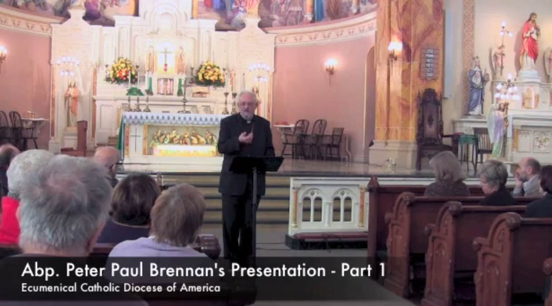 (Archbishop Brennan at St. Stanislaus, St. Louis